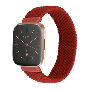 For Fitbit Versa 2 1 Lite Nylon Bands Strap Sports Woven Loop Watch Wristband