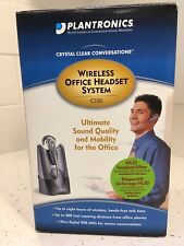 Plantronics CS50 - WIRELESS OFFICE HEADSET SYSTEM - NEW
