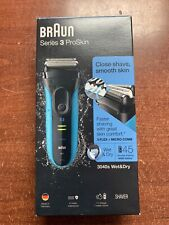 Braun Series 3 ProSkin 3040s Wet & Dry Electric Shaver Black -