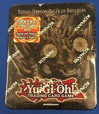YUGIOH REDOX, DRAGON RULER OF BOULDERS TIN 2013 SEALED KONAMI