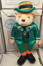 HARD ROCK CAFE AMSTERDAM ST PATRICKS DAY 2001 BEAR # 4 of 5 LARGE 21 Inch Tall