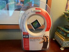 Sylvania 4 Gb Video Mp3 Player Smpk4600 Portable Audio Video 1.5 Lcd ColorScreen