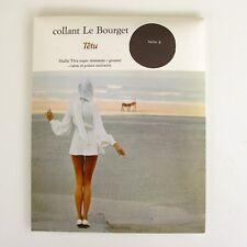 Collant  vintage - LE BOURGET - Modèle Têtu - Coloris Nuage Taille 2 - France