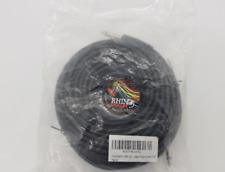 Rhinocables Gitarrenkabel 20m, 6,3 mm Klinkenstecker Mono-Stecker 1/4