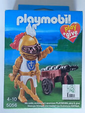 PEPYPLAYS PLAYMOBIL CABALLERO DORADO REFERENCIA GRIEGA 5056 EXCLUSIVO