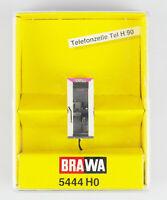 BRAWA Spur H0 5444 Telefonzelle Tel H 90, beleuchtet, OVP, top!