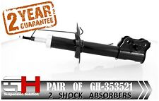 2 NEW FRONT GAS SHOCK ABSORBERS FOR KIA VENGA, HYUNDAY IX20 2010-> /GH-353521 /