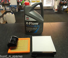 NISSAN NOTE (E11) 1.4 SERVICE KIT OIL AIR CABIN FILTERS COMMA 5 LITRES OIL