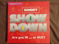 Show down game - Are you in... or out?                                        E3