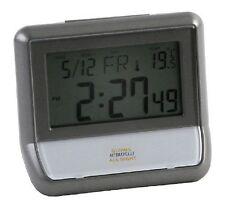 Light Sensor Alarm Clock Digital LCD Glows Automatically All Night
