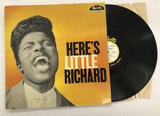 LITTLE RICHARD-HERE'S LITTLE RICHARD-TRUE 1st PRESSING-VINYL 4.0, SLEEVE 7.0