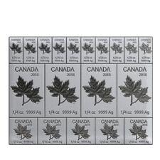 2oz silver Mapleflex Canada 2018 Coin Bar