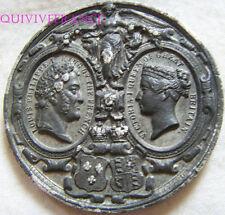 MED5269 - MEDAILLE VISITE DE LOUIS-PHILIPPE A LA REINE VICTORIA 1844