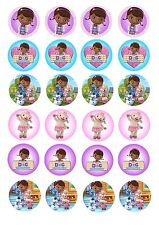 Edible Cake / Cupcake Toppers Doc Mcstuffin CUPCAKE - Highest Australian Quality