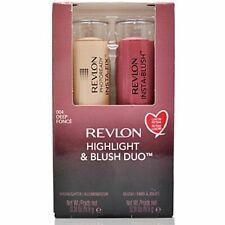 Revlon Highlight & Blush Duo 004 DEEP New Boxed