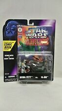 Star Wars Shadows of the Empire Boba Fett vs IG-88 with Comic Book