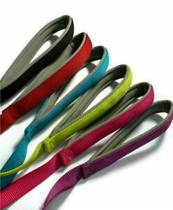 Padded Dog Leads Ancol / Viva Nylon with PADDED HANDLE Handy Straps
