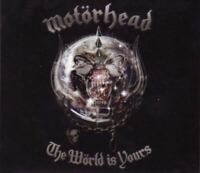 MOTORHEAD the world is yours (CD, album, digibook) hard rock, heavy metal, 2010