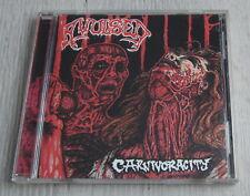 AVULSED - Carnivoracity  Org CD 1995 FIRST PRESSING Repulse Rec.  MINT RARE