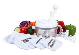 Ultra Chef Express Salsa Maker, Food Processor, Chopper, Mixer, Blender, Slicer
