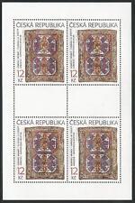 Tschechische Republik aus 2003 ** postfrisch Kleinbogen MiNr.368-369 - Teppiche!