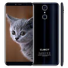 """Cubot X18 5.7"""" 4G Quad-Core, 3GB RAM, 32GB ROM, 16MP, Dual SIM, Unlocked Smartphone - Blue (MT6737T)"""