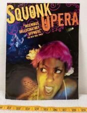 Squonk Opera Autographed 8x10 Promo Flyer agk