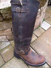Sendra engineerstiefel 10026 Antik marrón con Vibram-perfil suela talla 11 = 46