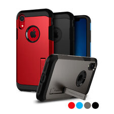 iPhone XR | Spigen® [Tough Armor] Dual Layered Protective Shockproof Case Cover