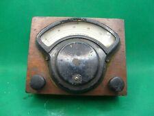 Vintage Hoyt Electical Instrument Voltmeter