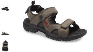 Keen Targhee III Open Toe Sandal Grey/Black Men's sizes 7-15/NEW!!!