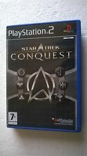 PS2 SONY PLAYSTATION 2 STAR TREK : CONQUEST