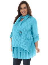 Camisas y tops de mujer de color principal multicolor 100% algodón talla M