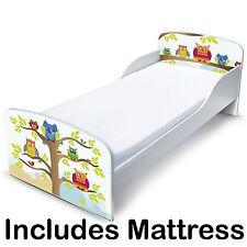 lit de bébé MDF HIBOUX & Matelas à ressorts Neuf Chambre à coucher
