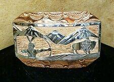 Buckle (BK22) Navajo: Storyteller- The Hunt of the Buffalo