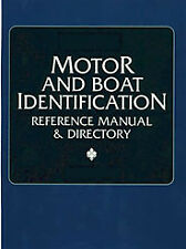 Clymer Pro Series motore e l'identificazione BARCA REFERENCE Manual & directory MMIC 3