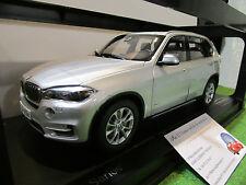 BMW X5 ( F15 ) gris argent au 1/18 PARAGON PA-97072 voiture miniature collection