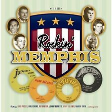 ROCKIN' MEMPHIS (4CD BOX) 4 CD  (JOHNNY CASH, ROY ORBISON, CARL PERKINS...) NEW+