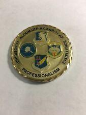 ALCOM/JTF-AK/ANR/11 AF Commanding General Challenge Coin F14