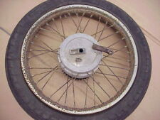 VINTAGE JAWA 361 CALIFORNIAN REAR WHEEL HUB AND BRAKE ASSEMBLY