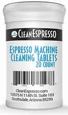 20 Pack of Breville Espresso Cleaning Tablet Generics    Cleaner for Cino Cleano