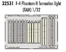 Eduard 1/32 F-4 Phantom II formation lights for Tamiya kit # 32531