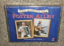 The Worlds Of Foster & Allen - Debut Solo Albums (×2 Cassettes) TESTED - EXC!