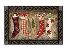 Magnet Works Christmas Stockings MatMates
