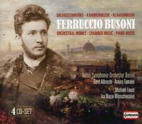 F. Busoni - Orchestral Works / Chamber Music / Piano Music [New CD]