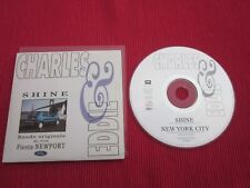 CD SINGLE CHARLES EDDIE SHINE NEW YORK CITY BO FIESTA NEWPORT 1993