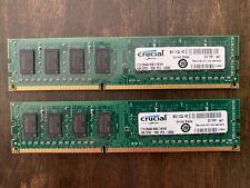 Crucial by Micron 8 GB PC Desktop RAM (2 x 4GB) DDR3-1600 PC3-12800 Memory