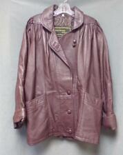 Nicole Sarhady Collections Leather Jacket (Fully Lined) Women's Size Large