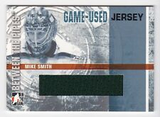 2006-07 ITG Between the Pipes jerseys #GUJ-13 Mike Smith SP # /90 / Short Print