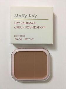 Mary Kay Light Beige Day Radiance Cream Foundation 0092 New In Box NIB NOS